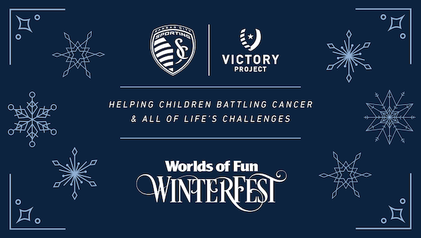 Worlds of Fun teams with Sporting KC's charity, the Victory Project.