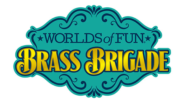 Live Entertainment at Worlds of Fun - Logo for Brass Brigade