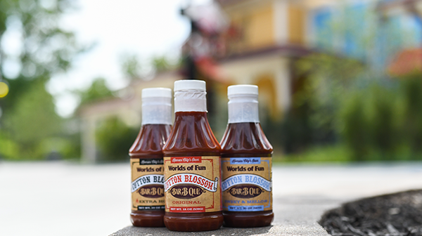 Kansas City BBQ Sauces from Cotton Blossom at Worlds of Fun