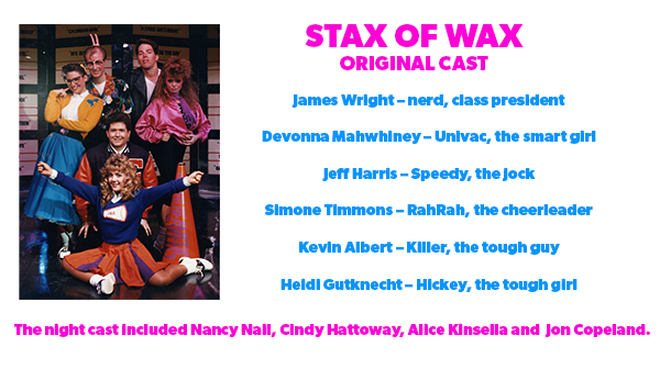Original Cast members of Stax of Wax at Worlds of Fun