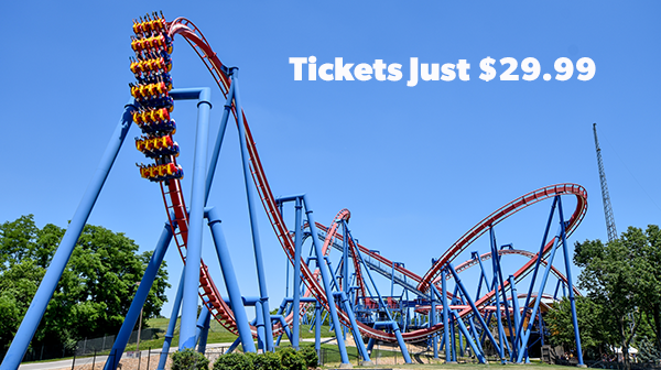Worlds of Fun Tickets are just 29