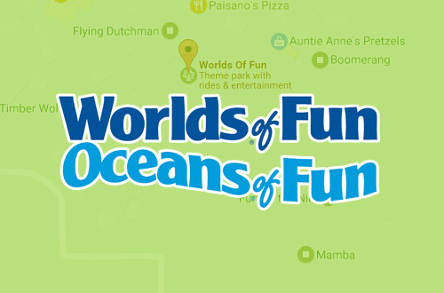 Worlds of Fun Directions