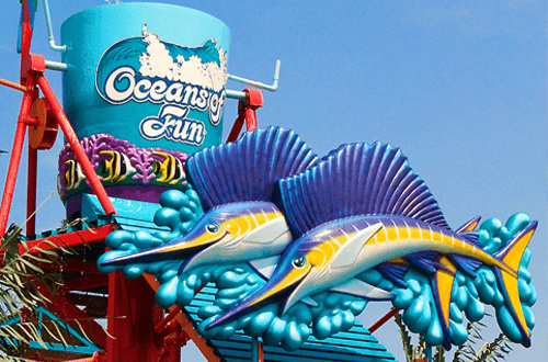 Oceans of Fun Water Park in Kansas City, Missouri
