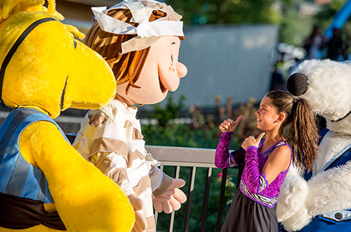 Peppermint Patty's Tall Tales at Worlds of Fun's Halloween Event