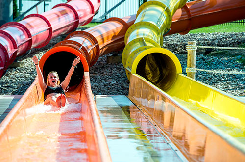 Oceans of Fun Slides and Attractions
