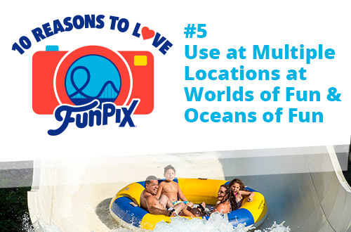 Use at Multiple Locations at Worlds of Fun and Oceans of Fun