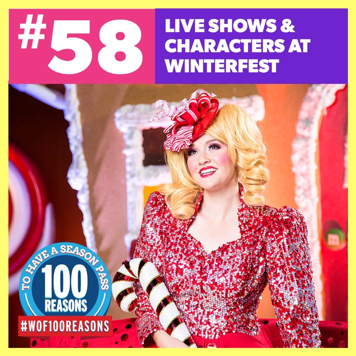 Live Shows & Characters At WinterFest