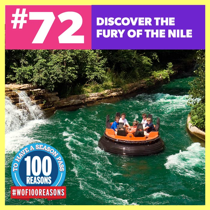 Discover the Fury of the Nile