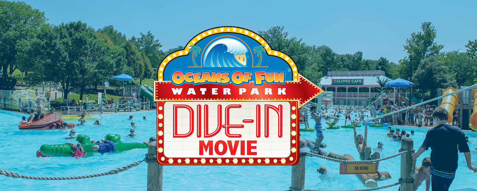 Dive-In Movies at Oceans of Fun | Movies in the Park